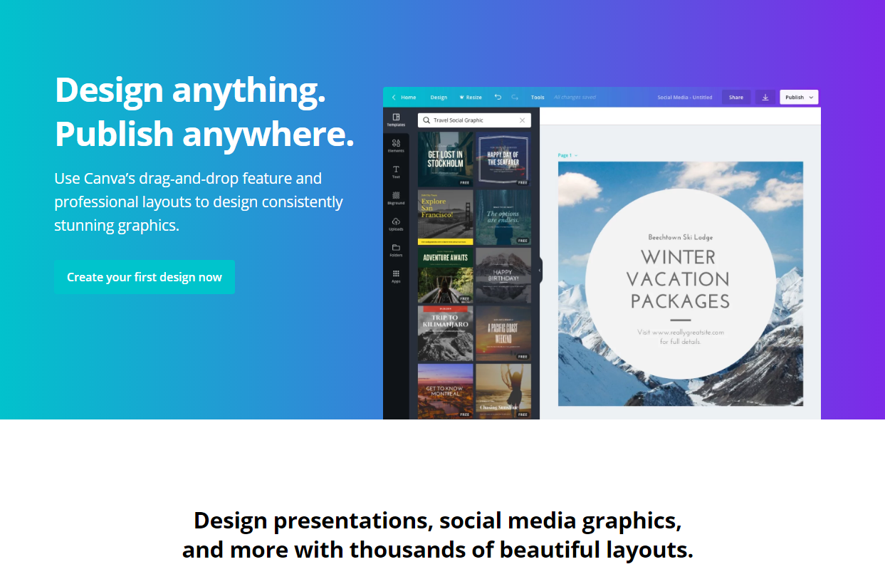 How to Use Canva & Create Eye Catching Graphics IN 2020